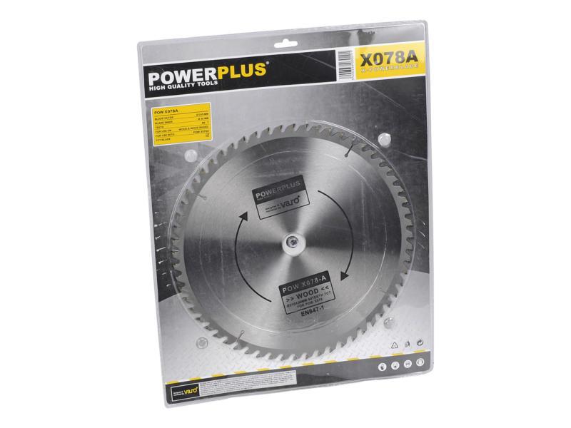 Powerplus X Garden POWX078A lame de scie circulaire 315mm 60D