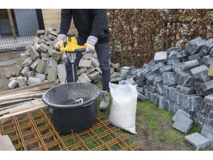 Powerplus POWX0841 beton- en verfmixer 1600W