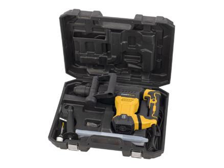 Powerplus POWX11831 marteau-piqueur SDS-max 1300W + 2 accessoires