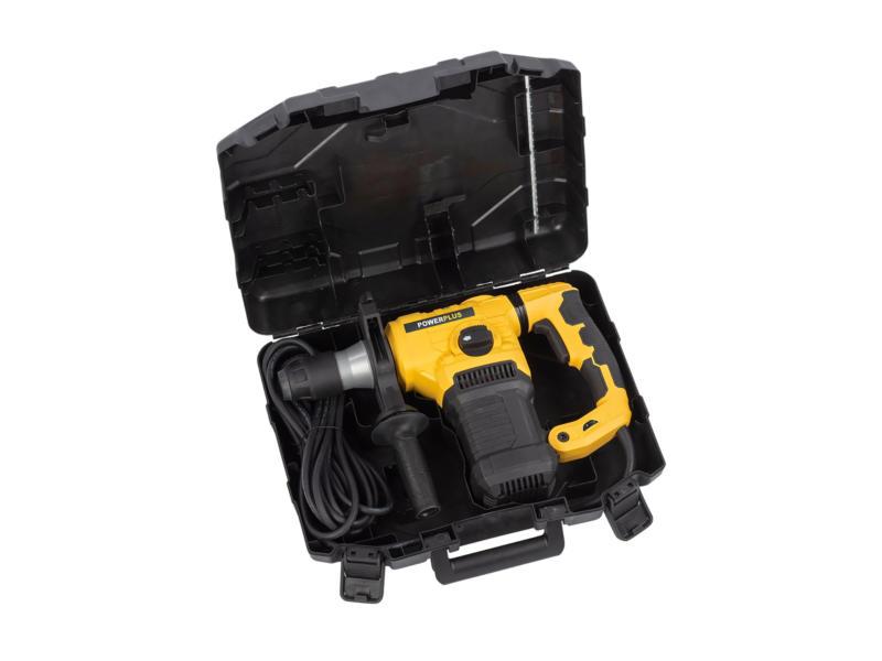 Powerplus X POWX1196 boorhamer SDS-Plus 1600W + 17 accessoires