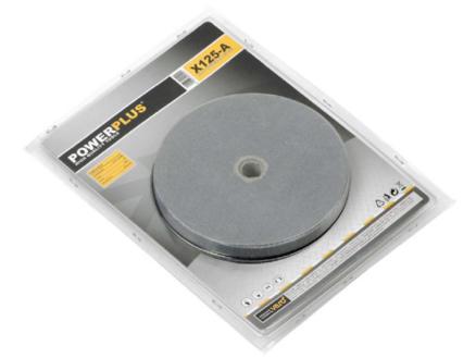 Powerplus X POWX125-A pierre à touret G80 200x40x20 mm