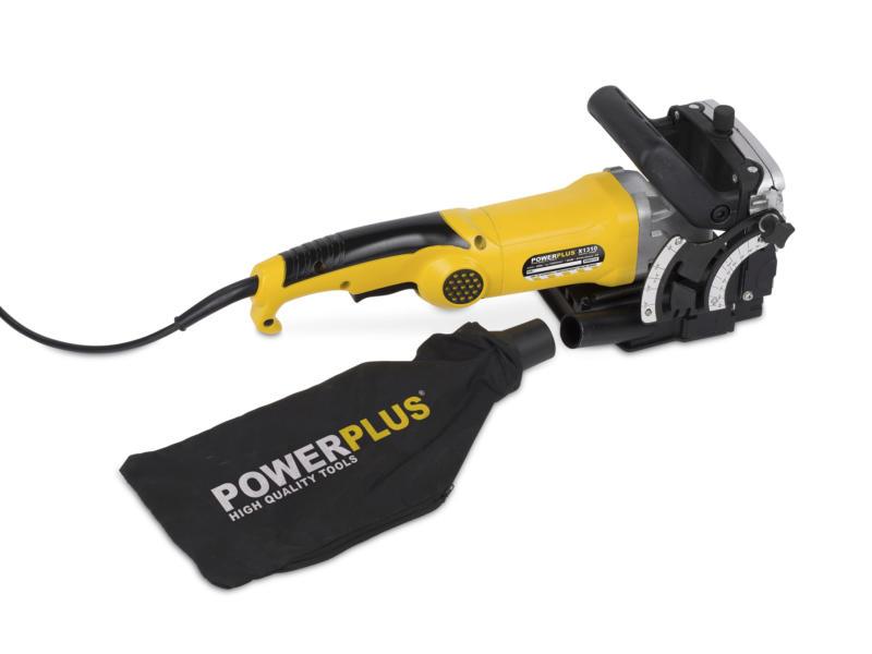 Powerplus POWX1310 fraiseuse à lamelles 900W 19mm