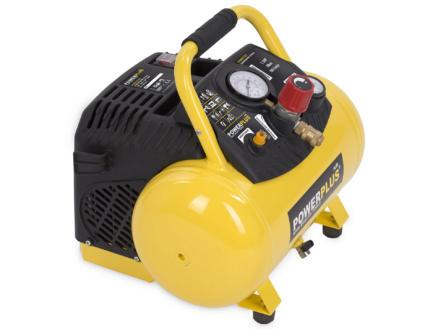 Powerplus POWX1723 compresseur 1100W 12l sans huile