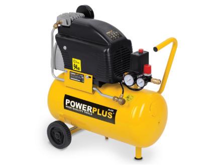 Powerplus POWX1735 compresseur 1500W 24l lubrifié