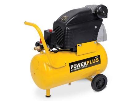 Powerplus POWX1735 compressor 1500W 24l oliegesmeerd