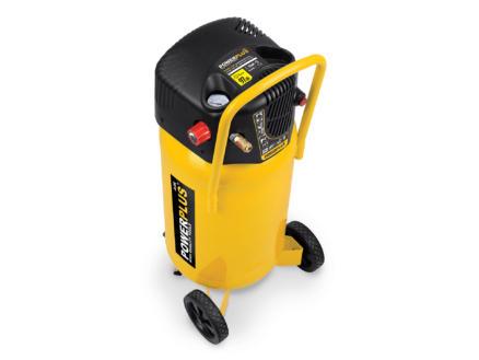 Powerplus POWX1750 compresseur 1500W 50l sans huile