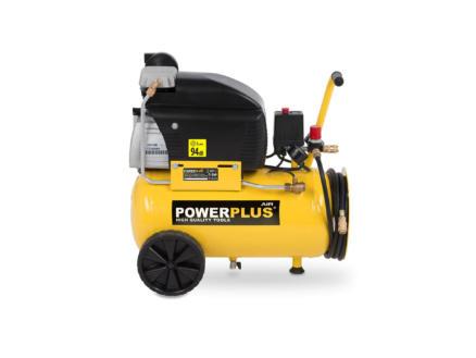 Powerplus POWX1791 compresseur 1800W 24l lubrifié