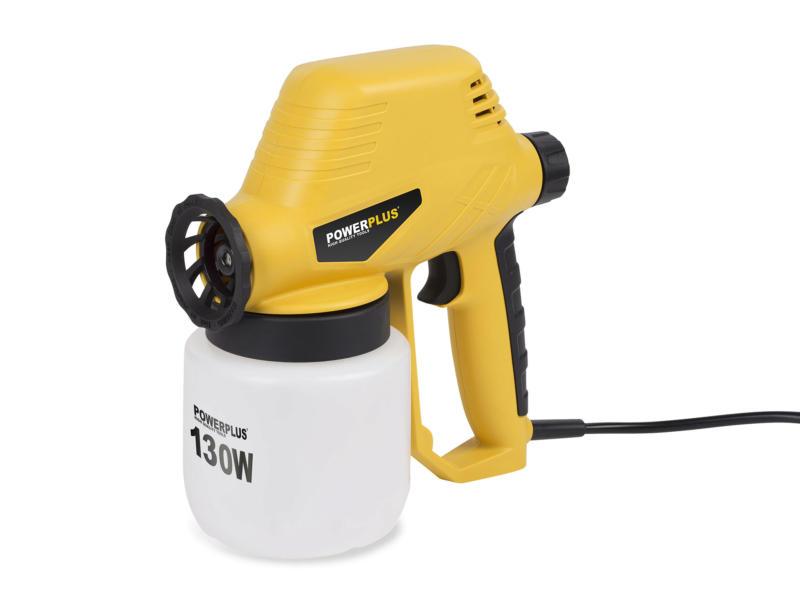 Powerplus POWX351 pulvérisateur à peinture 130W
