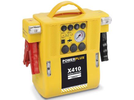 Powerplus POWX410 energiestation met compressor 4-in-1 12V 6A