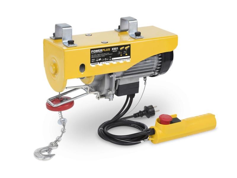 Powerplus POWX901 takel 1000W 200/400 kg