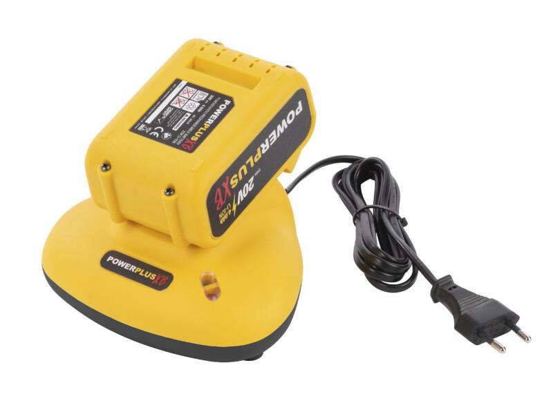 Powerplus XB POWXB10010 accu schroefboormachine 20V + POWXB40010 accu multitool 20V met accu + lader