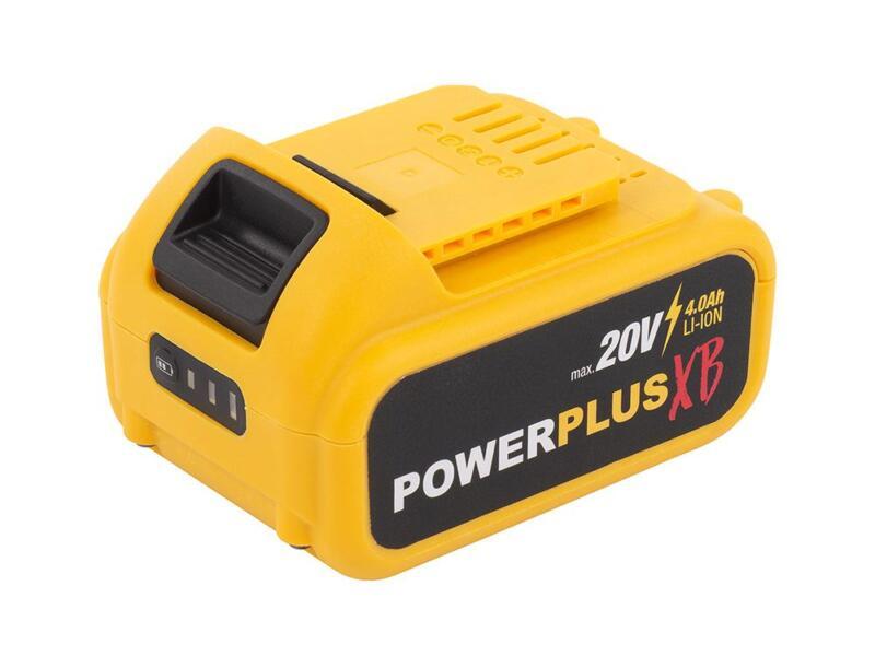 Powerplus XB POWXB20050 accu haakse slijper 20V