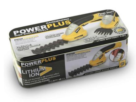 Powerplus POWXG2032 accu gras- en heggenschaar 7,2V Li-Ion 12cm