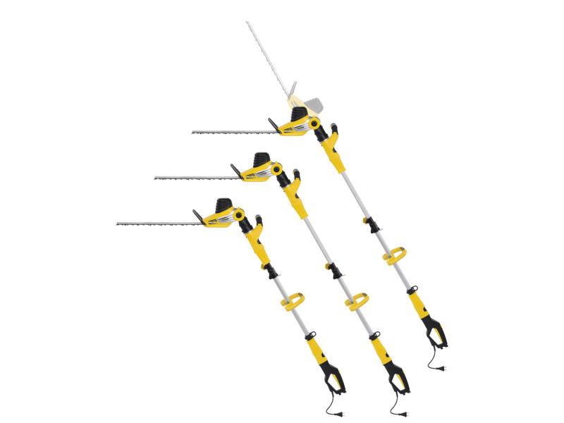 Powerplus POWXG2042 taille-haies électrique télescopique 750W 51cm