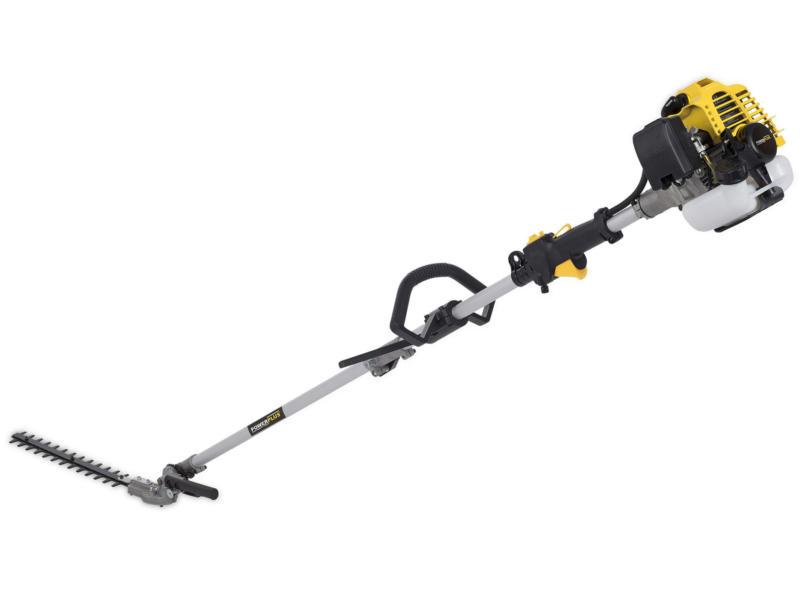 Powerplus POWXG2061 taille-haies thermique 25,4cc 39cm + rallonge