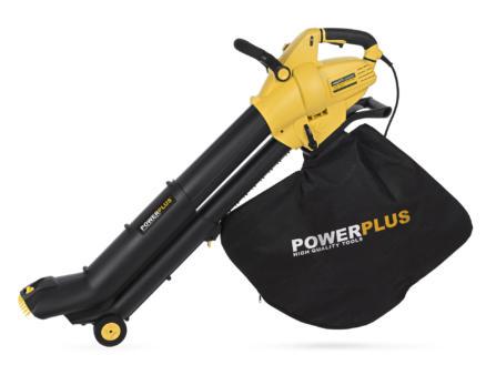 Powerplus POWXG4037 souffleur-aspirateur de feuilles électrique 3000W