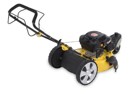 Powerplus POWXG60230 benzine grasmaaier 173cc 50,8cm 3 wielen