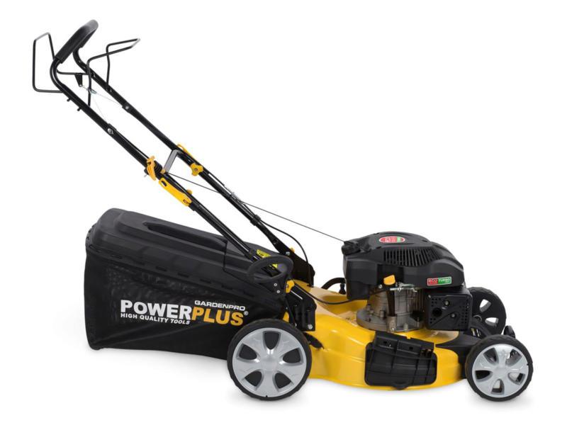 Powerplus POWXG60250 benzine grasmaaier zelftrekkend 196cc 53cm