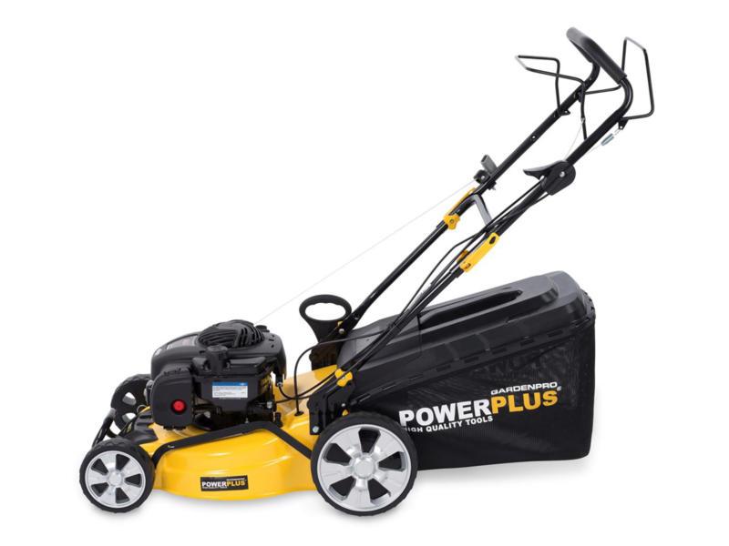 Powerplus POWXG60310 benzine grasmaaier zelftrekkend 125cc 46cm
