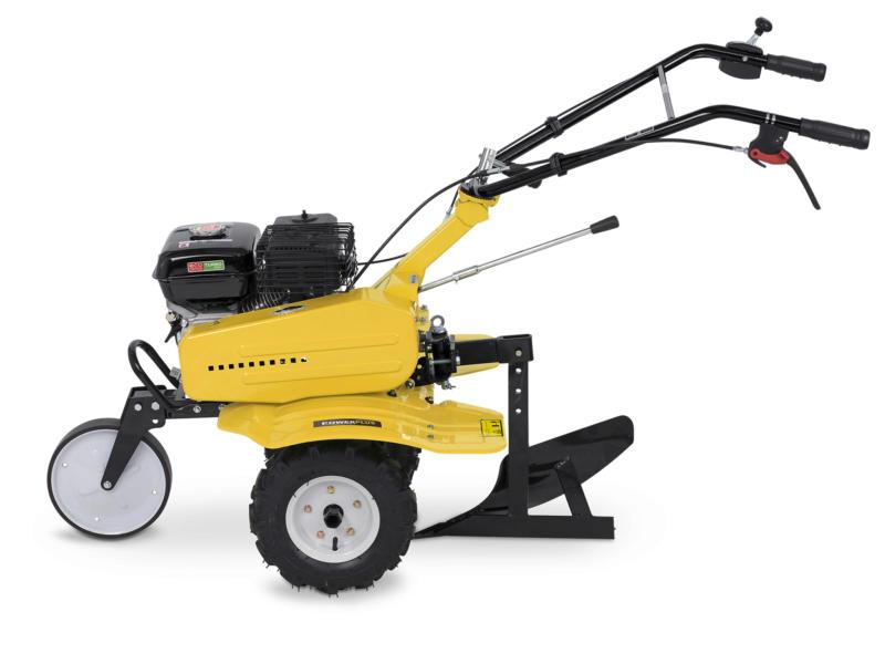 Powerplus POWXG7217 benzine tuinfrees 208cc + ploeg