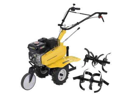 Powerplus X Garden POWXG7217 benzine tuinfrees 208cc + ploeg