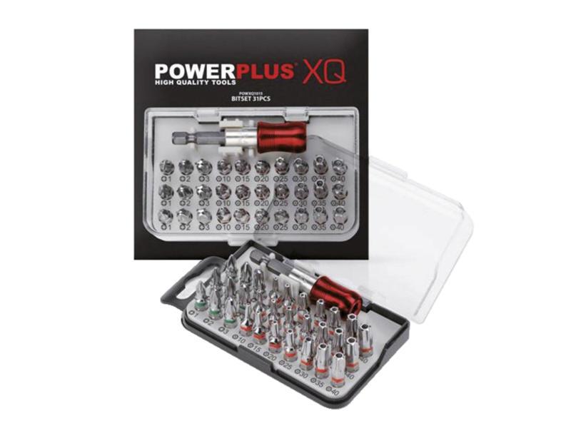 Powerplus POWXQ1015 set d'embouts PZ/TX 31 pièces