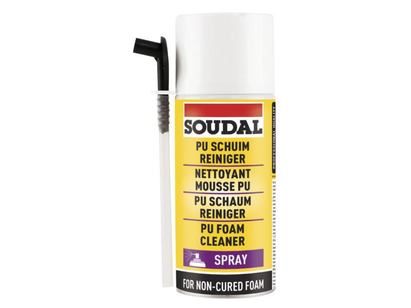 Soudal PU-schuimreiniger 150ml transparant