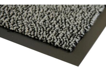 Paillasson antisalissant 60x90 cm anthracite