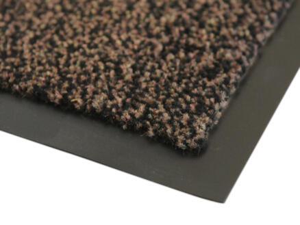 Paillasson antisalissant 90x150 cm brun