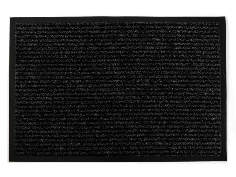 Paillasson antisalissures 60x90 cm anthracite