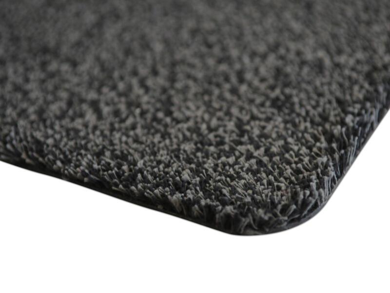 Paillasson en coton 100x150 cm anthracite