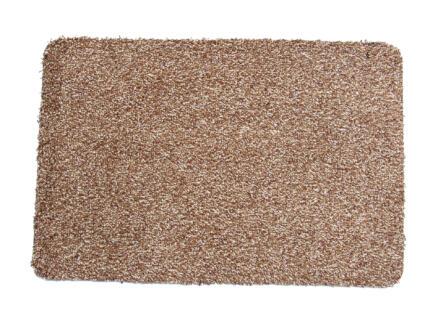 Paillasson en coton 100x150 cm beige