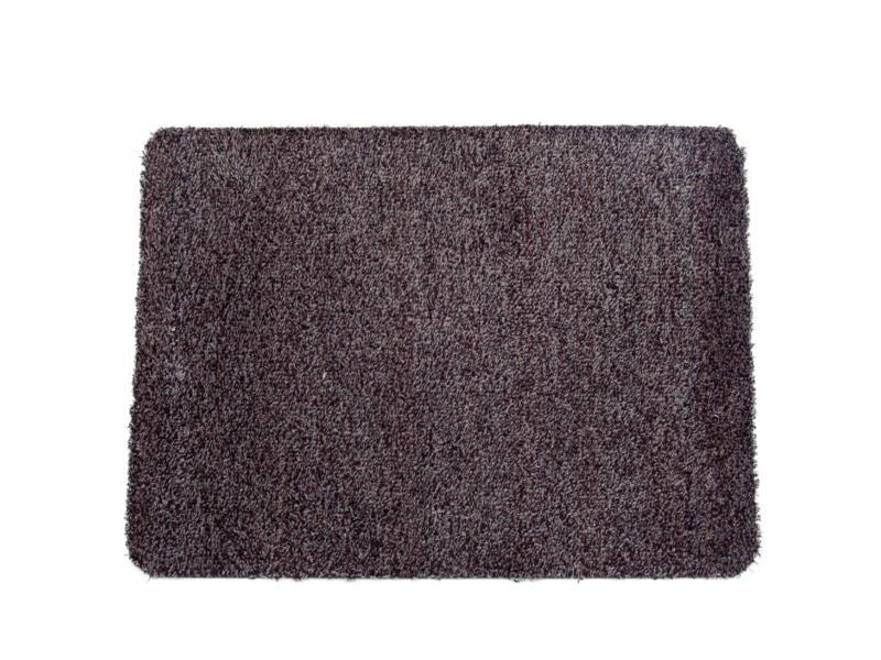 Paillasson en coton 40x60 cm anthracite
