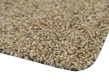 Paillasson en coton 45x65 cm beige