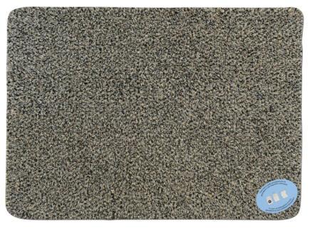 Paillasson en coton 70x125 cm gris