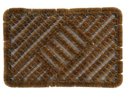 Paillasson grattoir coco 45x75 cm