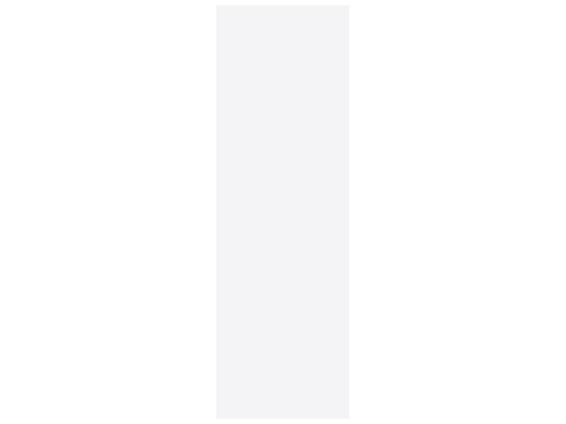 Panneau de meuble 250x80 cm 18mm blanc