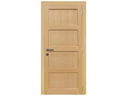 Solid Pannello Oak porte intérieure 201x73 cm chêne brun clair