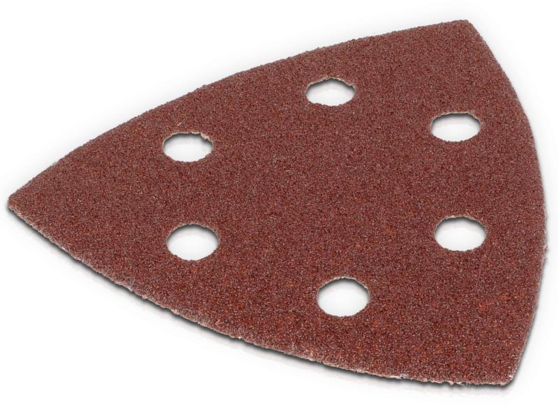 Kreator Papier abrasif 3x90 G80 5 pièces KRT210005