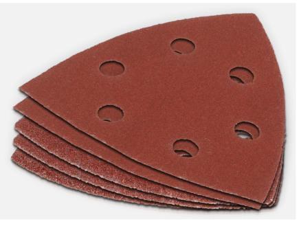 Powerplus Papier abrasif G120 5 pièces POWX049D
