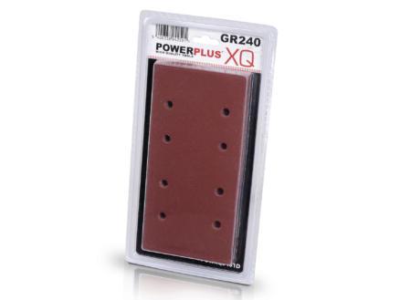 Powerplus Papier abrasif G240 10 pièces POWXQ5401D