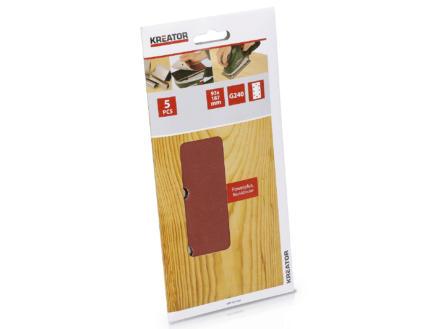 Kreator Papier abrasif G240 187x93 mm KRT201509
