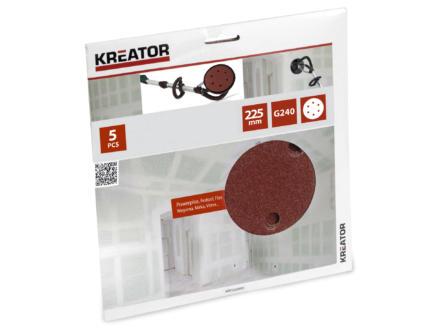 Kreator Papier abrasif G240 225mm KRT232009