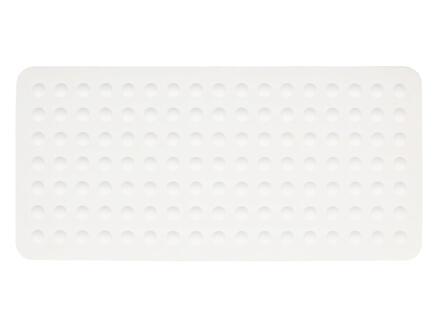 Differnz Papula tapis antidérapant baignoire 75x35 cm blanc