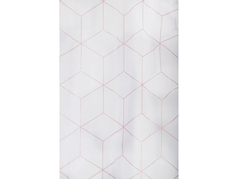 Differnz Pastillo douchegordijn 180x200 cm wit
