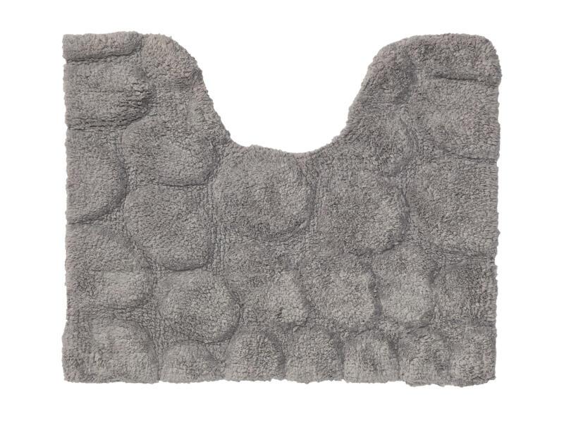 Sealskin Pebbles WC-mat 50x60 cm grijs