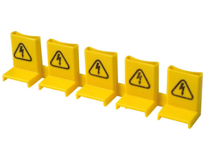 Penisolatie voor kamgeleider 5 pins geel