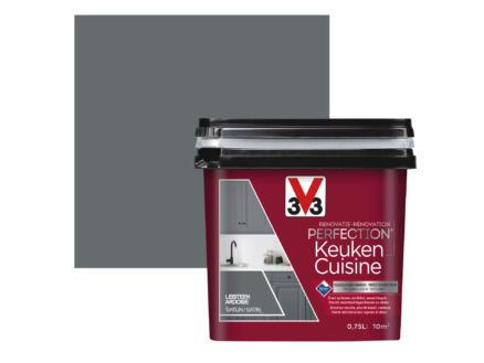V33 Perfection peinture rénovation cuisine satin 0,75l ardoise