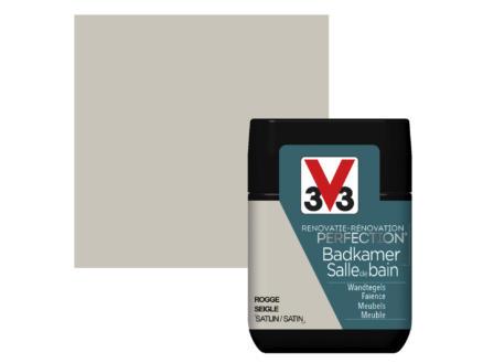 V33 Perfection peinture rénovation salle de bains satin 0,75l seigle