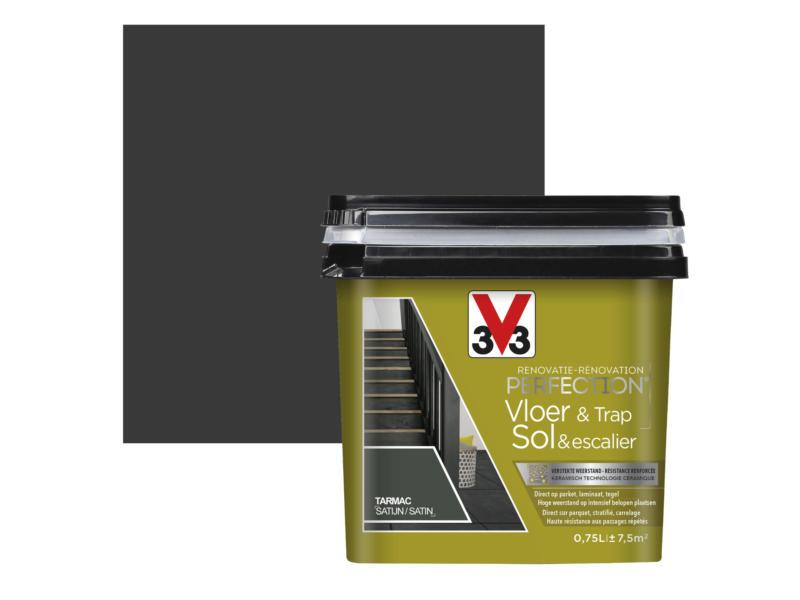 V33 Perfection peinture rénovation sol & escalier satin 0,75l tarmac